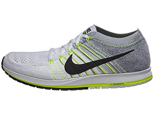 Nike Flyknit Streak, Zapatillas de Running para Mujer, Blanco (Blanco (White/Black-Volt-Pure Platinum), 35.5 EU