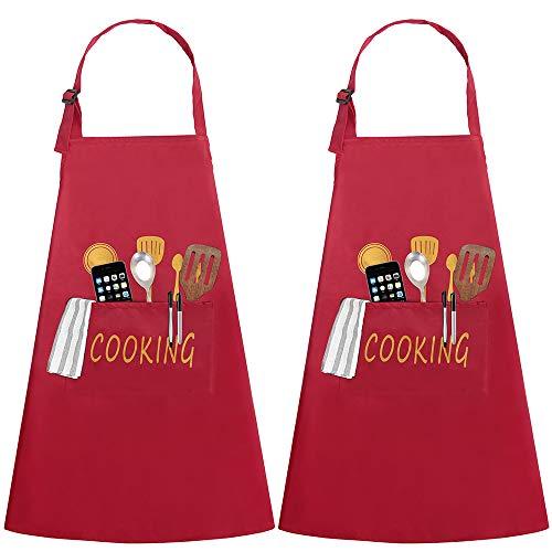 Delantales de Cocina 2 Piezas con...