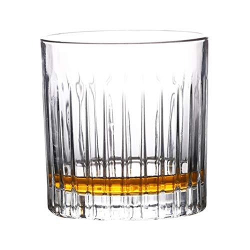 Hemoton Kristal Whiskyglas Ouderwets Glas Voor Het Drinken Van Whisky Bourbon Cognac Irish Whisky en Ouderwetse Cocktails
