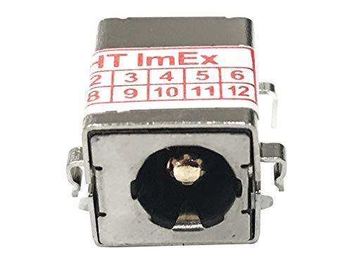 HT-ImEx Conector de alimentación hembra para fuente de alimentación CC Jack para...