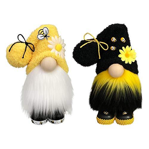 wintom Bumble Bee Gnomo una Rayas Escandinavo Sueco Miel Abeja Elfo Hogar Granja Cocina DecoracióN Abeja Bandeja ExhibicióN Escalonada