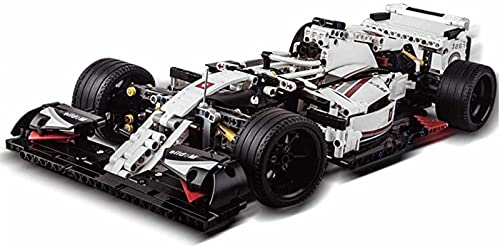 Tecnología Building Blocks Formula 1 F1 Racing Car, 1: 8 Sports Car Building Blocks Construcción Juguetes-1235Parts, Compatible con Lego Technic