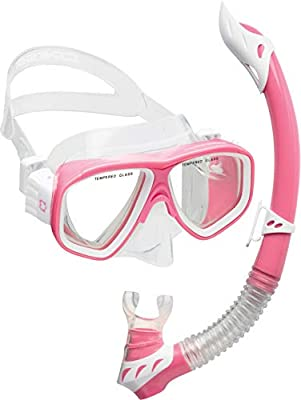 Cressi Rocks Kids Combo, Pink/White
