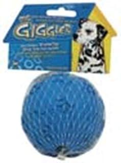 JW Pet Company Giggler Ball Dog Toy, Big, (Colors Vary)