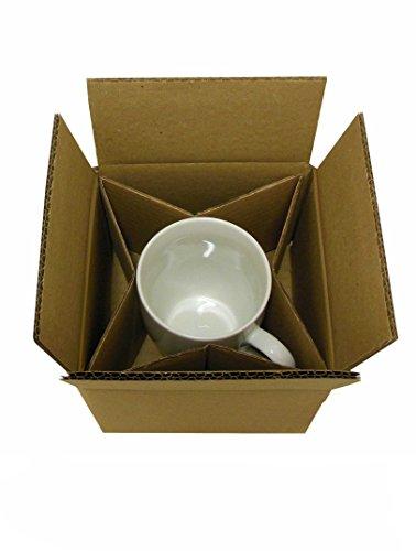 Tassenverpackung 140x140x100mm (2-Wellig), versandfähig, Anzahl wählbar (50)