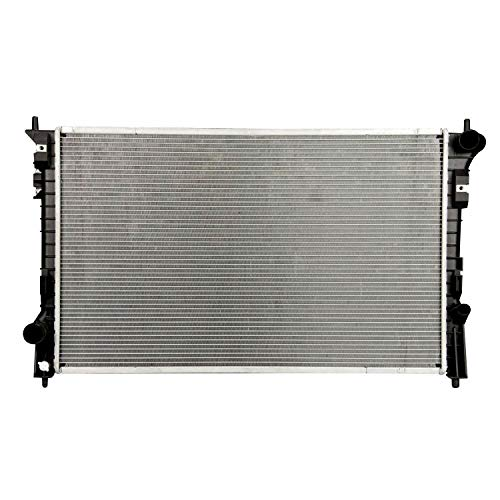Klimoto Radiator | fits Ford Flex Edge Taurus Lincoln MKS MKT MKX Mercury Sable 3.5L 3.7L V6 | Replaces FO3010276 7T4Z8005A