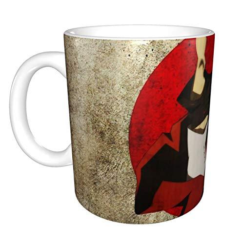 Anti stiratura samurai Champloo tazze tazza di ceramica isolata tazza di caffè tazza con manico vetro di caffè per latte