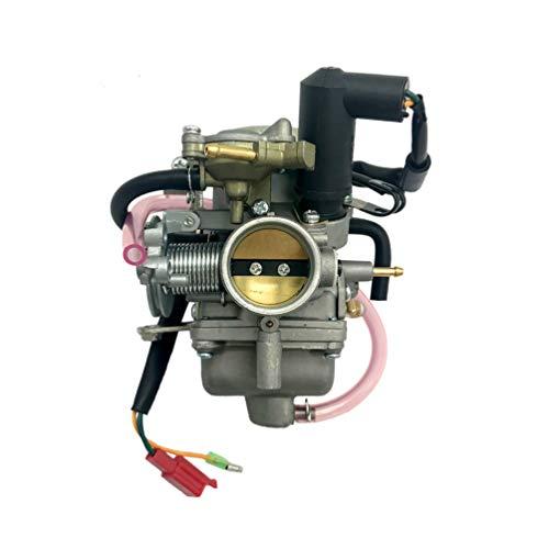 JHONG Carburetor Carber para Roketa MC-13-250 MC-54-250 MC-62-250 MC-62-250 MC-68A-250 CFMOTO CF250 GY6 250cc Scooter Carboot Fuel Supply