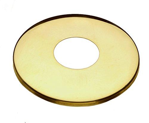 Cornat Messing Hahnrosette, 3/4 Zoll x 5 mm, T384110