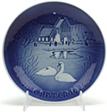 Christmas Plate by Bing & Grondahl, Porcelain Collector Plate, Christmas in the Village