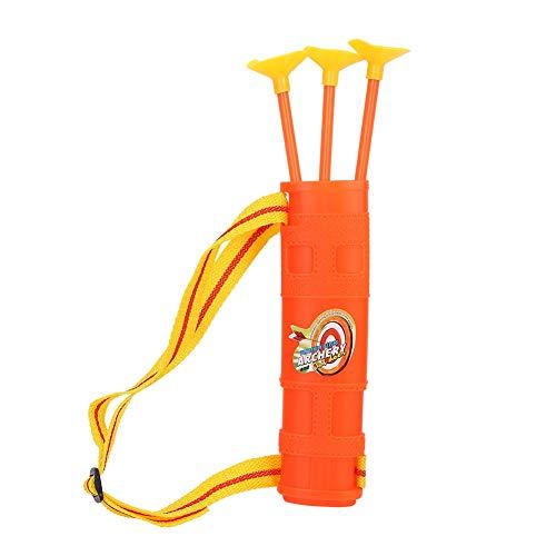 Alomejor Kinderspielzeug Bogenschießen Set 3 haltbare Saugnapfpfeile und Zielpunktzahl Ziel Kinderspielzeug