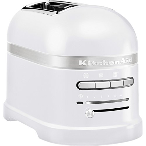 KitchenAid - 5KMT2204EFP - Grille-pains, 1250 watts, Blanc