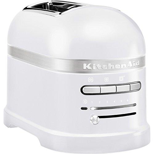 Kitchenaid 5KMT2204EFP Artisan -Toaster für 2 Scheiben, Frosted Pearl