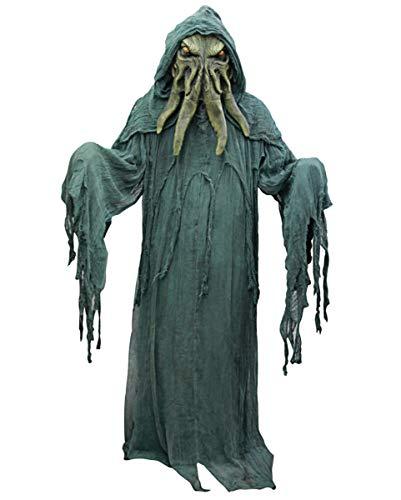 Horror-Shop Cthulhu Kostüm mit Latex Maske One Size / Erwachsenen Größe