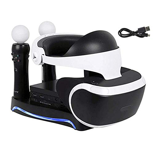 WANGOFUN PSVR Ladeausstellungsstand, Ausstellung, und Zeigen Sie Ihr PS4 VR-Headset und der Prozessor-Showcase und Move-Controller-Ladestation