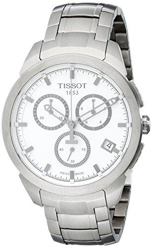 Tissot Herren-Armbanduhr XL Titanium Chronograph Quarz Titan T069.417.44.031.00