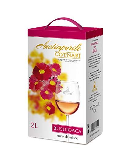 Cotnari | Busuioaca de Bohotin – rumänischer Roséwein halbtrocken 2 L Bag-in-Box