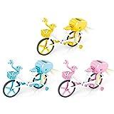 DUTUI Giocattolo per Bicicletta Elettrica per Bicicletta Inerziale per Bambini, Regalo Giocattolo Educativo per Bicicletta Elettrica con Luce E Musica 3PCS