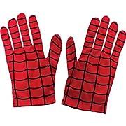 Rubie's Offizielles Kinder-Spidermanhandschuhe - Eine Größe, Rot