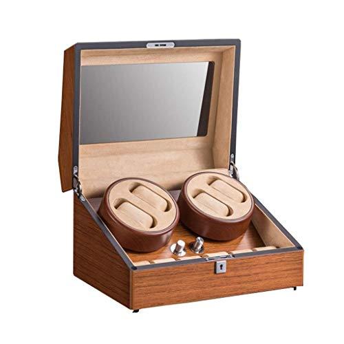 NZDY Bobinadoras de relojes Cajas de bobinadoras de relojes Archivos altos giratorios automáticos 4 + 6 Bobinadora de relojes Motor silencioso Silencioso Caja de bobinado automático Dispositivo de me