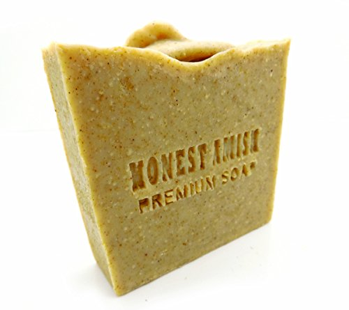 Honest Amish Natural Peppermint and Chickweed Soap Bar