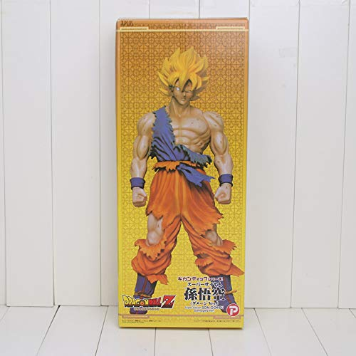 Dragon Ball Z - Majin Buu Super Saiyan Goku Son Big Size PVC Action Figures Model Collection Toys Dolls image