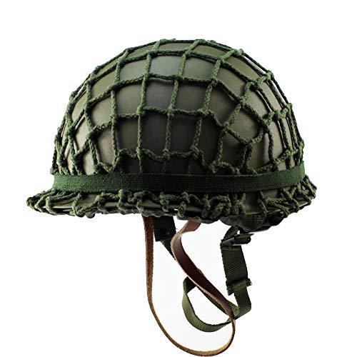 Tactical Area Cascos clásicos de la Segunda Guerra Mundial de EE. UU. M1 de EE. UU. Apoyos para películas Cascos de reproducción Cascos de Dos Pisos