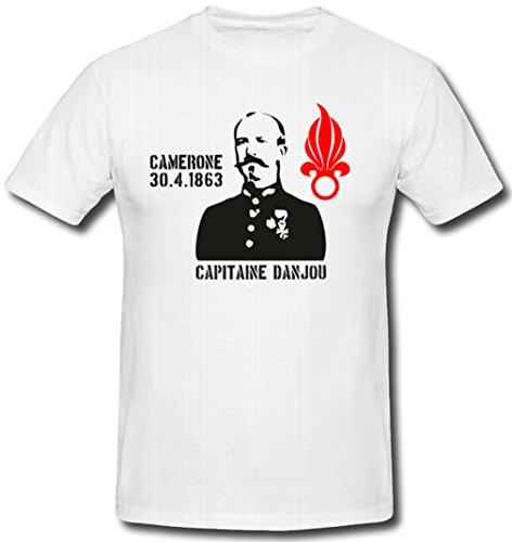 Capitaine Danjou Sovjet-leion camera 30.4.1863 Frankrijk gevechtd door officiële opleiding Bewaffung gebruik - T-shirt #520