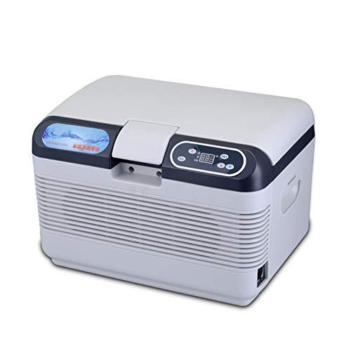 Faprol Multifunctionele koelbox, 12 V, 220 V, draagbare vrieskast, koelkast, 12 l, compact formaat, koel-/warmtefunctie