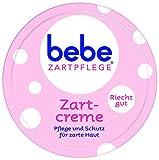 bebe Zartpflege Zartcreme, für zarte, junge Haut, feuchtigkeitsspendende Creme für Kinder, 6er Pack (6 x 150 ml)
