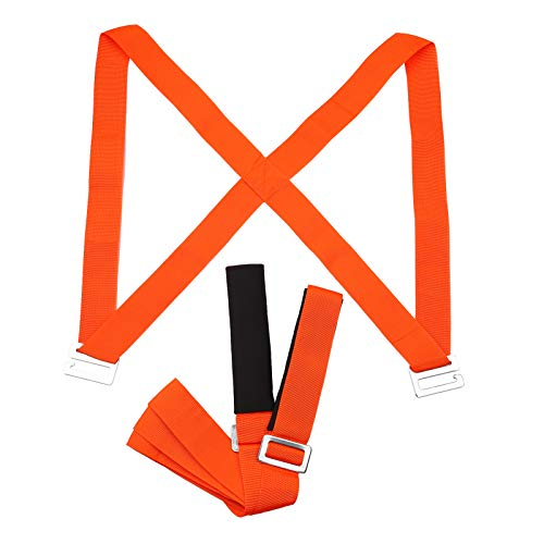 Kshzmoto Correas móviles Correas Elevadoras Polipropileno de Alta Resistencia Correas para Llevar al Hombro Correas Ajustables para el Hombro para Transportar Muebles elevadores en Movimiento Artícul