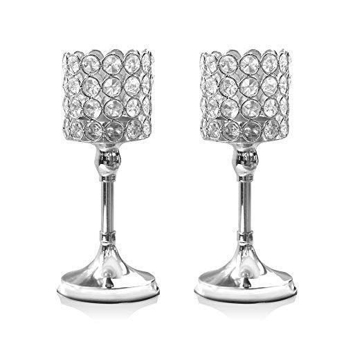 Bumpy Road Glassäule Kerzenhalter Kristall Kerzenhalter Tischständer Hochzeitsdekoration für Home Housewarming Geschenk