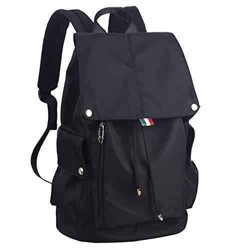 KJHGF Harajuku Large-capacity Rucksack, Men's Casual College School Bag, High School Student Stylish Backpack Waterproof, Can Accommodate 15.6in Computer B