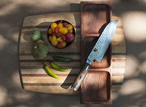 Shun Cutlery Premier Seven-Inch Santoku Knife