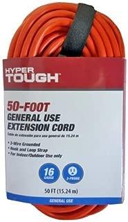 Hyper Tough 50ft 16x3c Orange Extension Cord