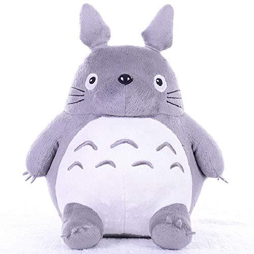 CGDZ Giocattoli di Peluche di Totoro Animali di Peluche Morbidi Cuscino di Cartone Animato Anime Cuscino Carino Gatto Grasso cincillà Bambini Compleanno Regalo di Natale Totoro 45 cm