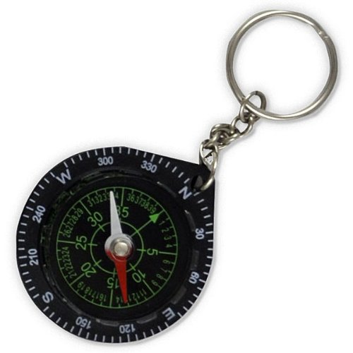 Fury Mustang Keychain Compass