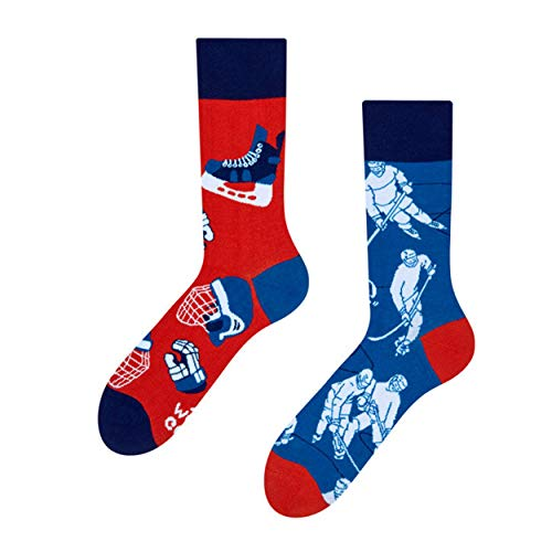 Good Mood - mismatched Socks - Unisex - Ice Hockey- Eishockey (43-46)