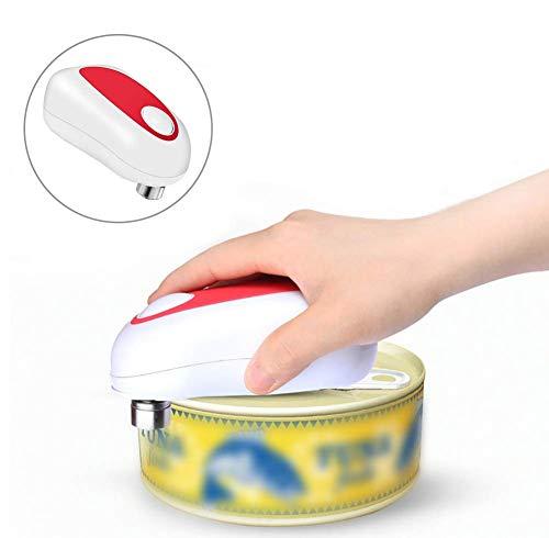 LLSS Ouvre-boîte Automatique One Touch, ouvre-Pot électrique, Outil d'ouverture de boîte Facile réglable, ouvre-Bouteille de Pot K