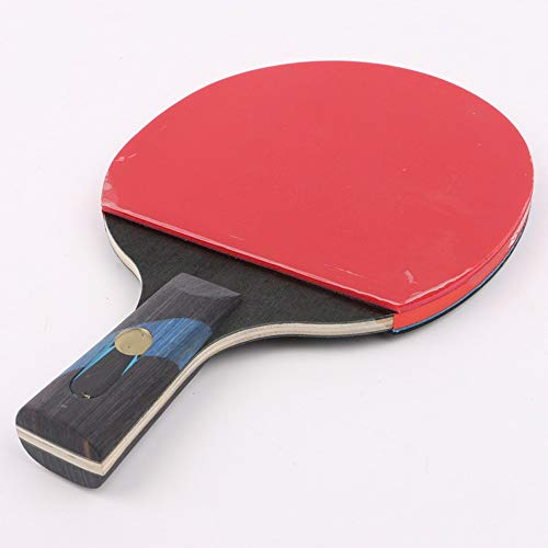 Best Buy! AiKuJia Table Tennis Bats Double-Sided Anti-Adhesive Ball Delivery Table Tennis Rackets Se...