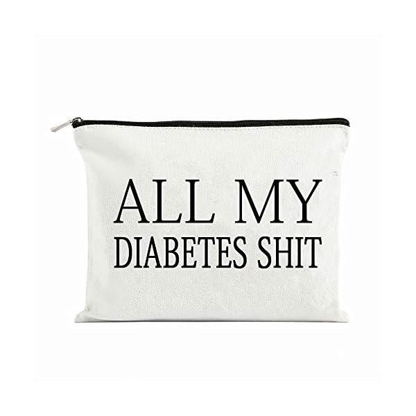 buy  All My Diabetes Shit Funny Diabetic Travel Bag ... Diabetes Care