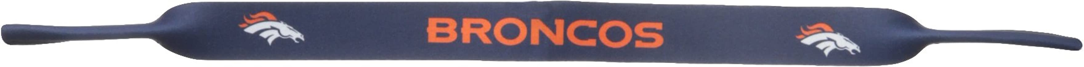 NFL Denver Broncos Neoprene Sunglass Strap, Blue