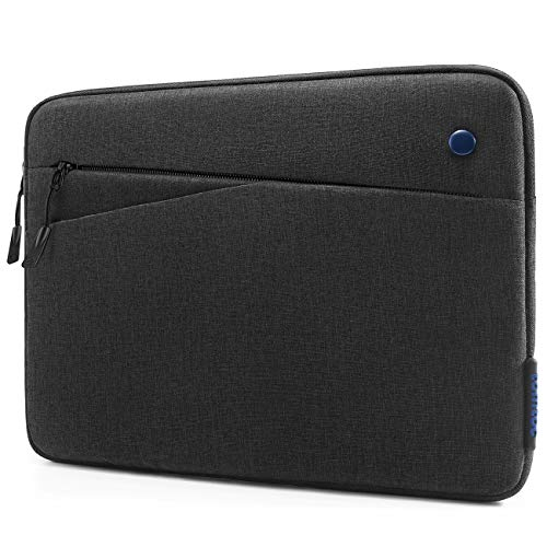 tomtoc 10.5-11 inch Tablet Sleeve Bag for 11' iPad Pro 2020, 10.2' New iPad 2019, 10,5' 2019 iPad Air Retina, 10.5' iPad Pro, Surface Go, Samsung Galaxy Tab, Fit Pencil & Smart Keyboard, Black