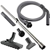 <span class='highlight'>SPARE</span>S2GO 2m Hose Pipe, Telescopic Extension Rod & <span class='highlight'>Tool</span> Kit <span class='highlight'>Spare</span> Parts <span class='highlight'>for</span> <span class='highlight'>Miele</span> <span class='highlight'>C1</span> <span class='highlight'>C2</span> <span class='highlight'>C3</span> S2000 S4000 S5000 Vacuum Cleaner Hoover