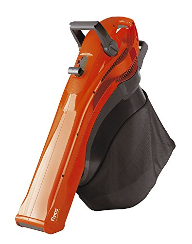 Flymo GardenVac 2700 - 4-in-1 Electric Vacuum / Blower / Shredder - 40L Collection Bag -Orange
