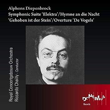 Alphons Diepenbrock: Symphonic Suite Elektra - Hymne an die Nacht 'Gehoben ist der Stein' - Overture 'De Vogels'