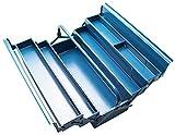 BGS 3302 | Montage-Werkzeugkoffer | 530 x 200 x 200 mm | 5 Fächer | Stahlblech | extra stabile Ausführung