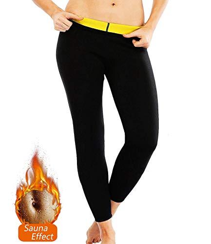 NOVECASA Weste Gewichtsverlust Suana/Hosen Mann Neopren Kostüme Shorts Body Shaper Schwitzen, Fettverbrennung für Fitness Yoga (3XL, Hosen)