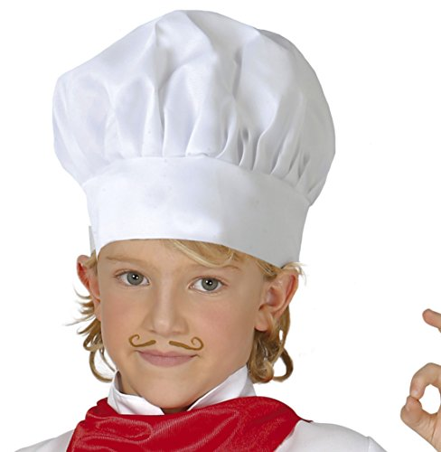 Guirca- Gorro cocinero infantil tela, u (13010.0)