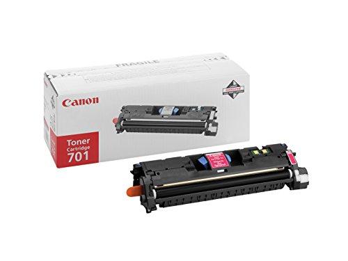 Canon cartucho 701 de tóner original magenta para impresoras láser i-SENSYS LBP5200, MF8180C